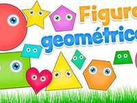 Geometric figures - recognizes each of the geometric figures