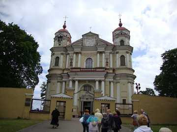 Vilnius - Lithuania - The church St. Piotr and Paweł in Antokol.