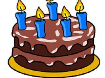 pastel de cumpleaños - reconstruir el pastel de cumpleaños
