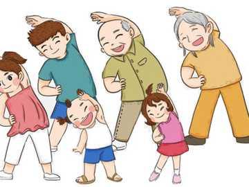 membres de la famille - Les membres de ma famille à compléter