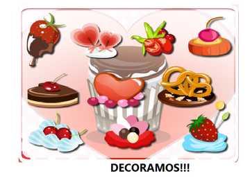 DECORATE CUPCAKES - WE DECORATE ,