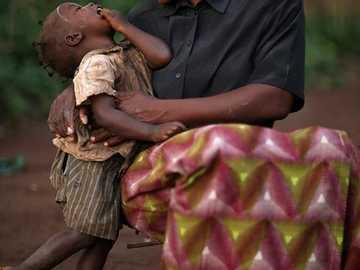 Piękny obraz =) - Piękny obraz matki i syna.
