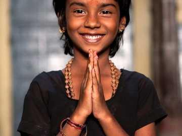 Piękna indyjska dziewczyna - Piękno i współczucie! =)