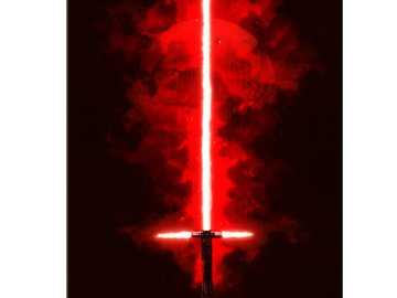 miecz świetlny Kylo Ren - ten, kto ukończy go w mniej niż 5 sekund, koronuje go