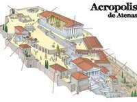 ATHENE ACROPOLIS - De Griekse agent. De polis (meervoud polis) is de naam die aan de stadstaat van Griekenland is gegev