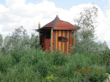 Drewniana Hata - Drewniana chata w Irrlandii Storkow