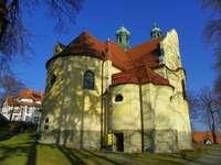 Magasan Polanicában - Templom a Polanica-ban - Zdrój