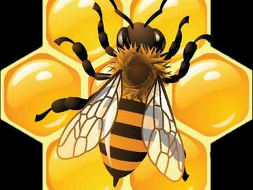 A bee - Puzzle for the little ones