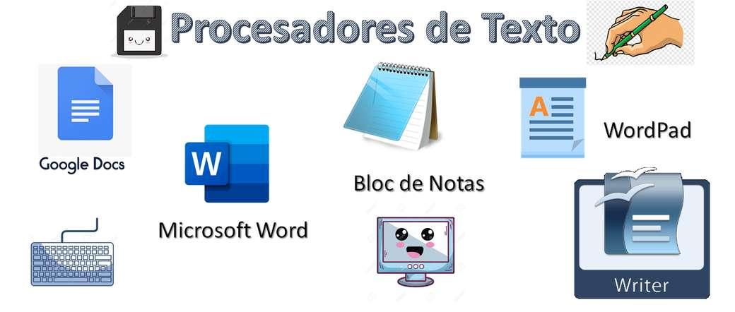 Textový procesor - Rozpoznává různé textové procesory (8×3)