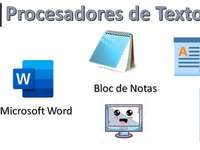 The word processor - Recognize the different word processors