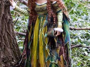 Princess walking in the woods - Princess walking in the woods