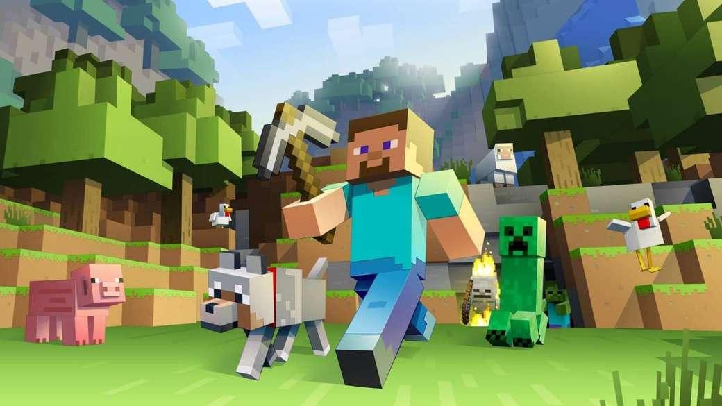 Minecraft - Minecraft et ses amis (6×3)