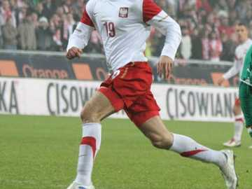 Tomasz Jodłowiec - A reprezentatív karrier Jodłowiec 2008. október 11-én debütált a lengyel csapatban a 2010-es v