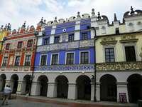 Zamoscban - Gyönyörű bérházak Zamość-ban