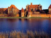 Castle in Malbork - Nice building and surroundings