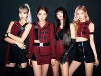 NEGRU ROZ - Blackpink este un grup de fete din Coreea de Sud format din YG Entertainment, format din membri Jiso