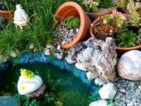idéia do jardim