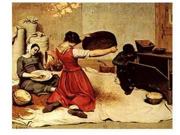 REALISMO - È una tendenza estetica che rappresentava una rottura con il romanticismo, sia in termini ideologic