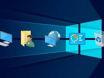 Windows-Desktop - Erstellen Sie den Windows-Desktop und seine Elemente