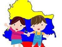 Kaart van colombia