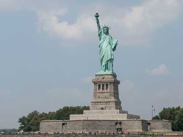 State of Liberty, Nowy Jork - Słynna Statua Wolności. Statua Wolności National Monument, Nowy Jork, État de New York, États-U