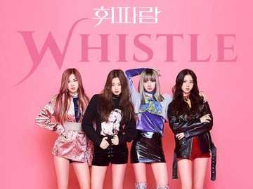 whistle blackpink - up 90 cm down 90 cm right 90 cm left 90 cm