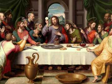 The last supper of Juan de Juanes - The last supper of Juan de Juanes
