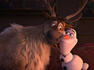 Sven and Olaf - Loving each other Friends,: D