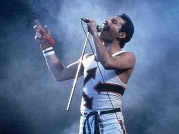 Freddie Mercury - zdjęcie z koncertu Freddie Mercury