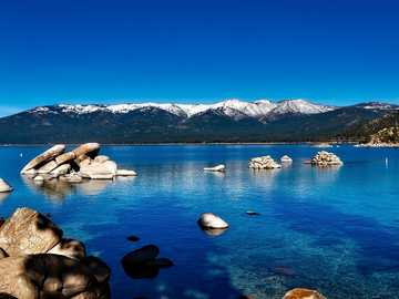 Jezioro Tahoe - Kalifornia - piękna kraina