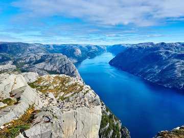 Norwegia -- - fiordy - wybrzeże norweskie