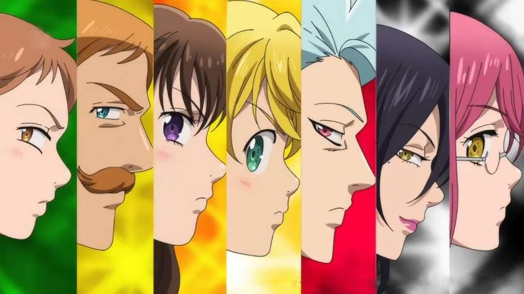 7-те смъртни гряха - тези герои са от анимето nanatsu no taizai (3×2)
