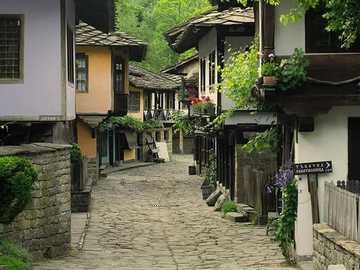 starożytna ulica rzemiosła - starożytna ulica rzemiosła - zachowane stare domy