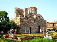 Nessebar - a cidade antiga - Nessebar - uma parte preservada da cidade antiga