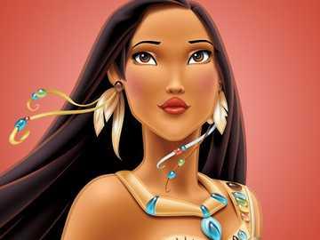 POCAHONTAS - Description des personnages de dessins animés et de films # 6 POCAHONTAS - ♥ Destiny ...
