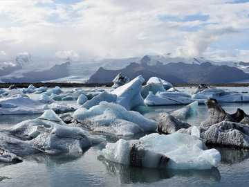 Iceland - ice floes ----------------