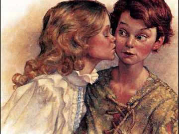 Pierwszy pocałunek - Chłopak, dziewczyna, pocałunek