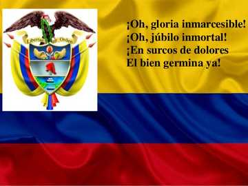 Colombian National Anthem - Colombian national symbol