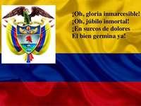 Hino Nacional da Colômbia - Símbolo nacional colombiano