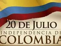 20 de julho - Independência da Colômbia. - Em 20 de julho, comemora-se a Independência da Colômbia.