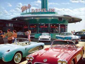 Mel's Drive In - Mel's Drive-In to amerykańska sieć restauracji założona w 1947 roku przez Mela Weissa i Har