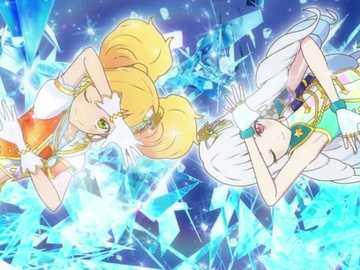 Star Cool Charm (Duo) - 的 的 Cool : 魅力 魅力。 : Orange Shine Stars Coord 、 Rouen Shine Stars Coord。