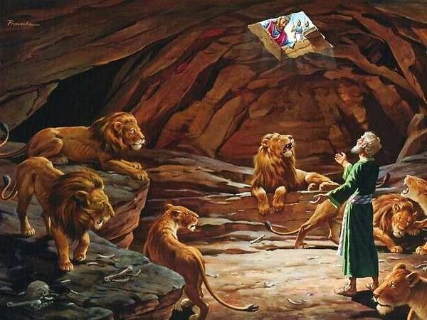 PIT OF LIONS - Ułóż Puzzle Online za darmo na Puzzle Factory