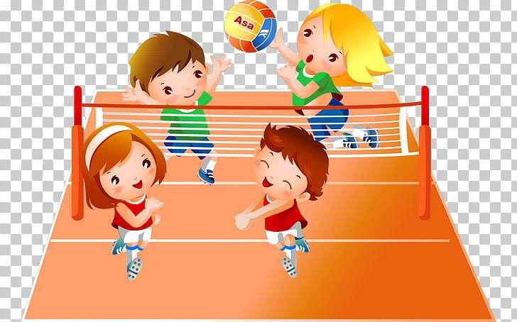 Graj w siatkówkę dla 3 klasy - Graj w siatkówkę dla dzieci z trzeciej klasy (9×6)