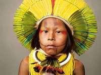 Garçon indigène Kayapó - Brésil