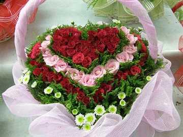 Blumenstrauß für den Urlaub - Blumenstrauß für einen Urlaub - für einen feierlichen Anlass