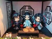 Ein hübsches Bild des alten Japan
