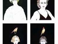 Små fåglar på huvudet - Författare, Renata Schussheim