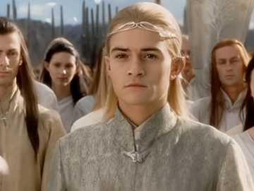 Coroação de Legolas de Aragorn - Faça o quebra-cabeça conforme as instruções de todos os quebra-cabeças
