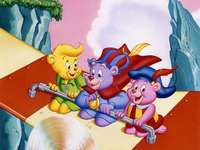 Gumisie Puzzle For Children - Gumisie (Disney's Adventures of the Gummi Bears, 1985–1991) - an animated series from the Dis